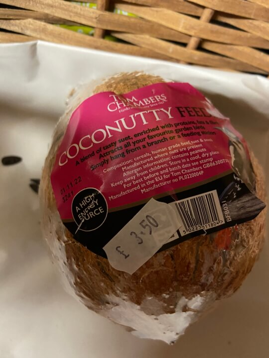 Coconutty £3.50