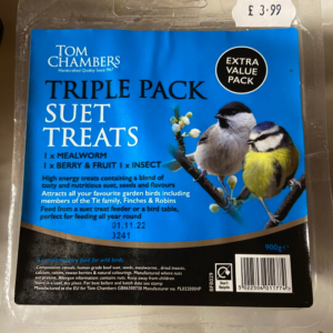 Suet Treats Triple Pack £3.99 (1)
