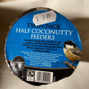 Twin Pack Coconut Halves Feeder £3.99 (1)